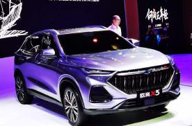 长安欧尚X5重庆车展首发:看完实车,感觉长安欧尚真的上道了