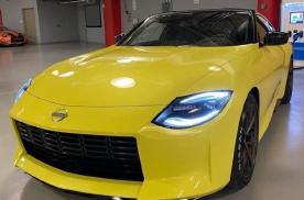 "GTR的""小老弟""!全新日产Z Proto实车,6缸配大后驱"