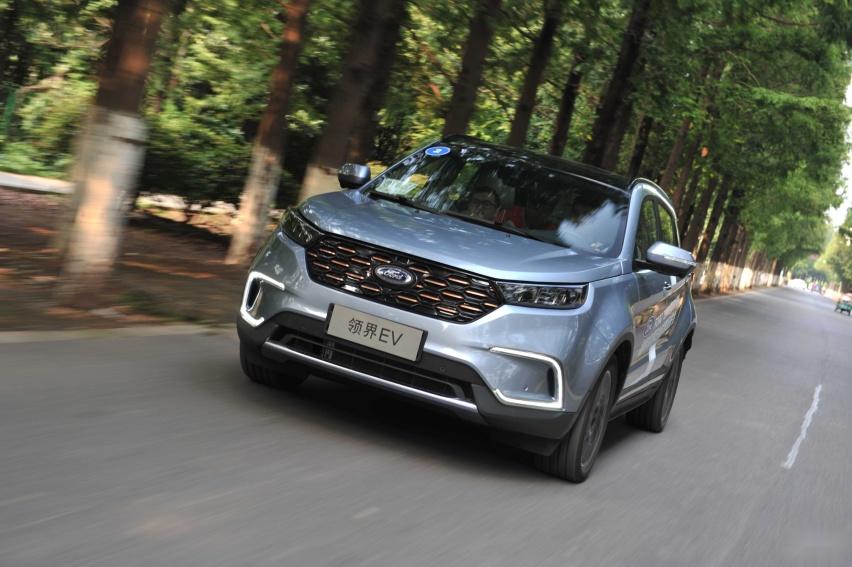 福特纯电SUV领界EV,城市代步+超高性价比,五座家用首选?