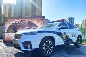 不再羡慕迪拜豪车警车,中国豪华警车VV7来了
