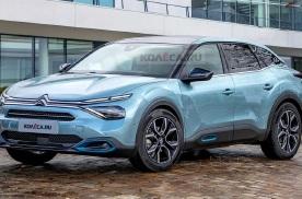 设计更加动感 全新雪铁龙C5渲染图曝光 有望于上海车展首发