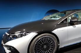 奔驰EQS实车图曝光,新车将于4月18日国内首发