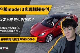 「暴走报告」国产版Model 3开启交付,马斯克现场尬舞