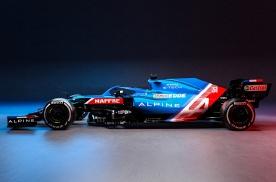 Alpine F1车队2021赛季战车亮相,周冠宇担任试车