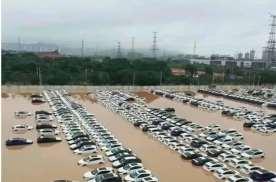 广州大雨漫灌,网友:这一届车企太难了