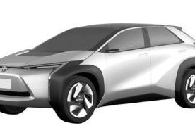 再曝内饰图片 丰田全新纯电SUV上海车展将全球首发