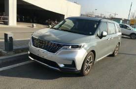 全新国产起亚嘉华无伪装实车曝光,造型和海外版车型相同