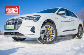 实力不输特斯拉,冰雪试驾奥迪首款纯电SUV e-tron!