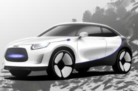 吉利和梅赛德斯-奔驰展示智能电动SUV概念