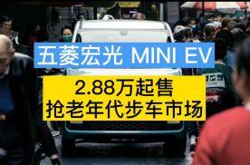 仅售2.88万元起 代步神器五菱宏光MINI EV 值得买不