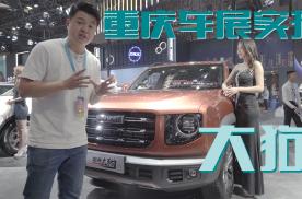 重庆车展实拍:15万级的越野王,哈弗大狗真这么强?