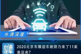 2020北京车展造车新势力来了11家,谁没来?