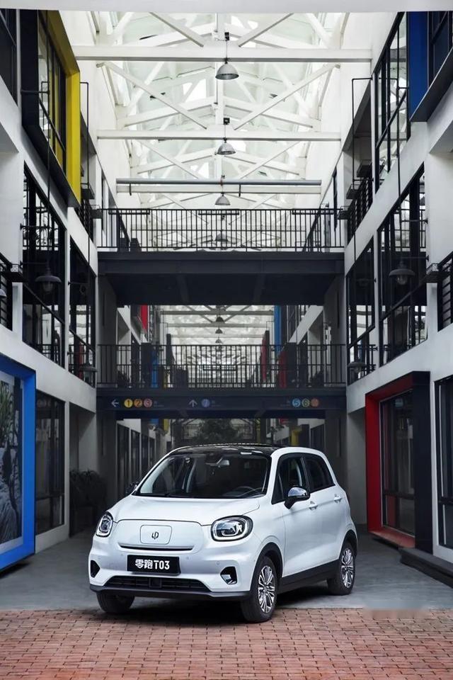 买车就要高配,6.58万起就拥有高品质的纯电车零跑T03