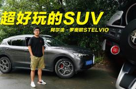 碳轴+LSD 超好玩的SUV阿尔法·罗密欧Stelvio
