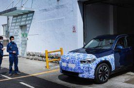 姗姗来迟的首款纯电动SUV,宝马iX3即将投产