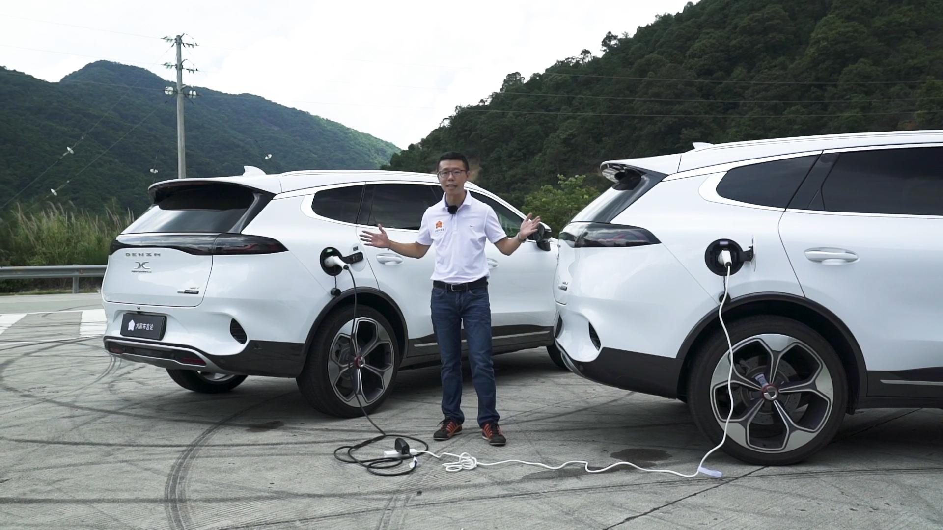 YYP颜宇鹏试驾腾势X,这样的车,也敢讲操控?视频