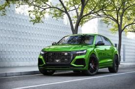 黑绿配色,功率近千匹,改装奥迪RS Q8官图发布