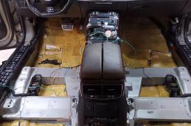 西安车凯胜奥迪S8汽车隔音改装大白鲨 杜绝噪音