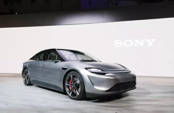 索尼也造车了?索尼纯电动概念车型VisionS正式发布