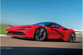 """法拉利第二款V6混动超跑将横空出世,还是那匹脱缰的""""跃马"""""""