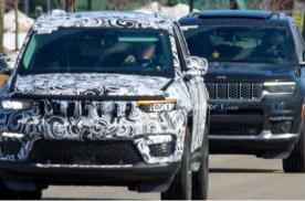 将于今年内亮相 Jeep大切诺基L五座版本的路试谍照