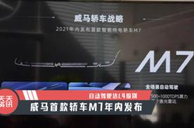 【天天资讯】自动驾驶达L4级别,威马首款轿车M7年内发布
