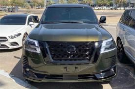 全新日产途乐实拍,车长过5米配V8动力够劲,或44万元起售!