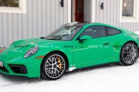 保时捷911 GTS亮相,套件优化动力提升,年内发布