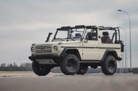 完美修复1991年款奔驰G-Wagen军用版
