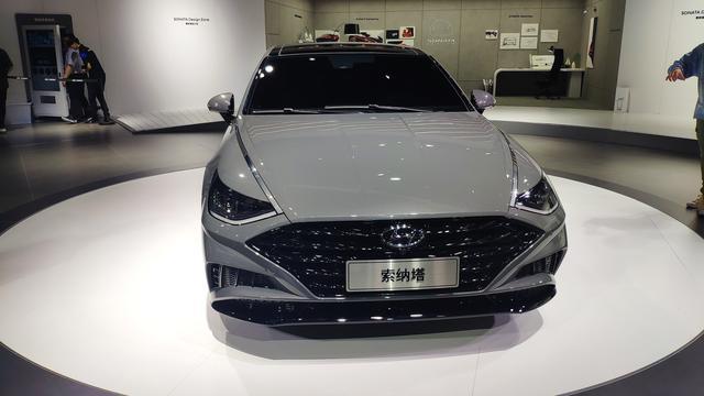 上海车展:全新现代索纳塔实车