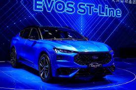 超1米1的大联屏,整车OTA升级,福特EVOS ST-Line你心动吗