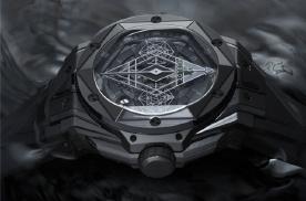 宇舶表携手马克西姆 限量首发10枚刺青全黑腕表