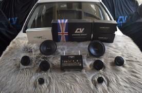 宝马320Li汽车音响改装,入耳入心的美妙音质,昆明发烧友