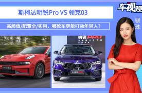 高颜值/配置全/实用,明锐Pro和领克03,哪款车更能打动年轻人?