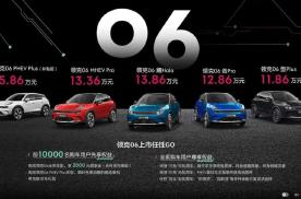 性价比SUV上市,领克06售11.86w~15.86w
