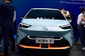 科幻时尚的紧凑级纯电SUV,静态体验埃安Y
