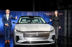 量产概念车领衔 林肯新车亮相上海车展