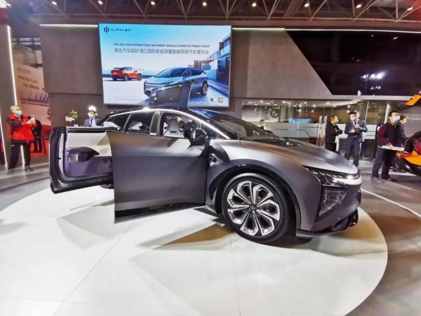 高合汽车HiPhi X亮相海南,3000辆创始版即将预订售罄
