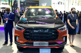 大通D90 PRO黑橙撞色版,设计浮夸硬派,8AT+强悍越野性能