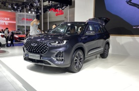 2021重庆车展:奇瑞瑞虎8 PLUS六座版上市