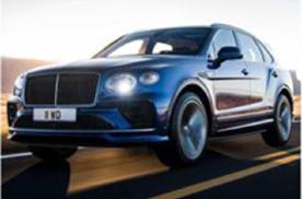 新款添越Speed车型官图发布,将于年底正式上市