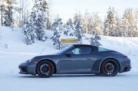 全新保时捷911 GTS谍照曝光 或在年底发布