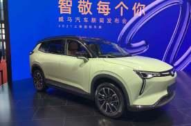 2021上海车展:威马W6实车亮相/售价16.98万元起