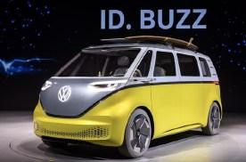 大众ID.BUZZ最新谍照曝光 有望2022年发布