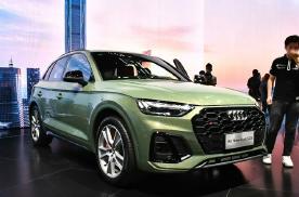 2021粤港澳车展:奥迪SQ5设计更显运动