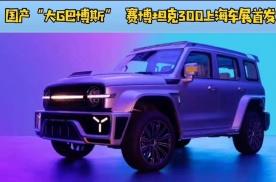 """国产""""奔驰G巴博斯""""来袭 赛博坦克300即将上海车展首发亮相"""
