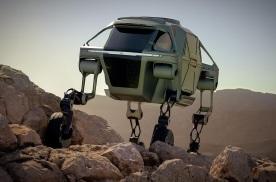 现代汽车已开发出一款具备机器人功能的步行汽车