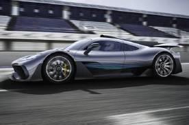 F1引擎加持,可以正常上路的奔驰AMG ONE限量发售