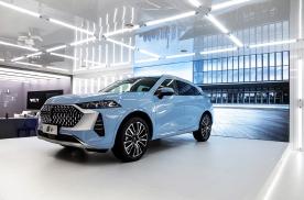 上海车展 WEY品牌旗舰SUV摩卡 17.98万元起预售