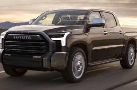 全新丰田坦途皮卡预告图发布 搭载3.5升双涡轮增压V6发动机